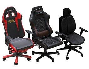 3D model Office Chair Pack 09