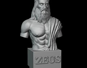 Zeus god bust 3D printable model