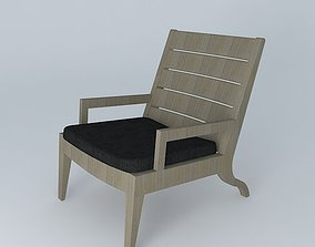 3D model Christian Liaigre Exterior Chair