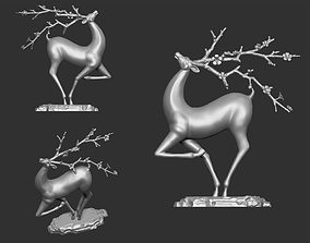 3D printable model Deer Sculpture