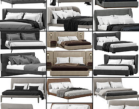 3D Beds collection 3