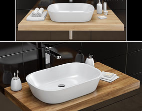 Washbasin RAVAK Ceramic O 3D model