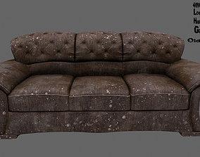 3D asset realtime armchair Armchair