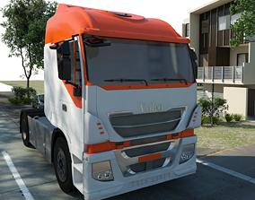 3D asset Volvo Truck Design by Naresh
