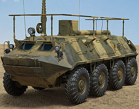 BTR-60PU soviet 3D model