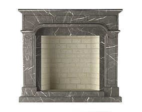 3D model details Fireplace
