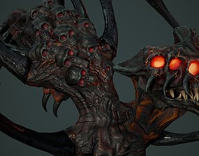3D model Undeath Spider 1