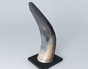 3D model horn houses the world