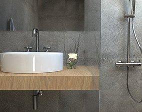 detailed bathroom 3D