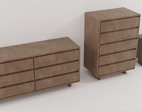 3D model Bedroom Furniture Set
