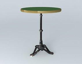 3D model green BISTRO TABLE RONDE ARDAMEZ Company