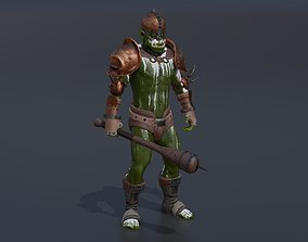 OrcWarrior1 3D asset