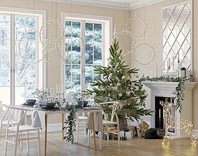 Christmas interior 3D