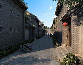 exterior China street 054 3D