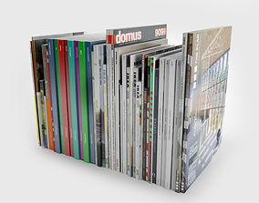 Various magazine 3D model