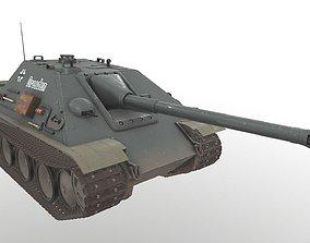 3D model Jagdpanther Real Time PBR