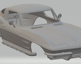 Stingray 1965 Printable Body Car
