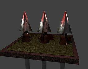 3D model SPIKE TRAP
