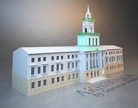 3D printable model Administration building