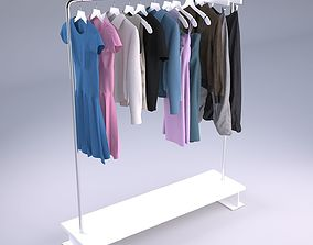 3D model Womens and mens wardrobe Clothes
