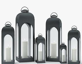 Restoration Hardware - Duomo Lantern 3D