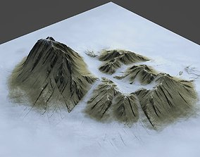 3D Mountains Pack-1