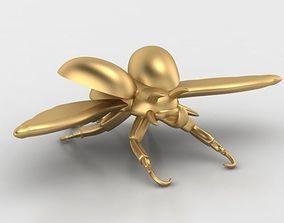 Beetle pendant 3D print model