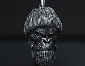 3D print model Gangster monkey vol1 Pendant jewelry