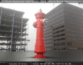 Fire Hydrant VAG NOVA 1885 - High-Poly 3D