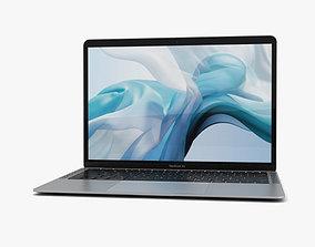 3D Apple MacBook Air 2018 Silver