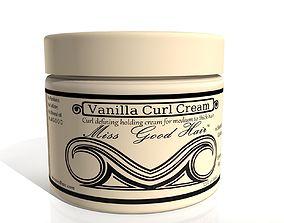 3D model Vanilla Curl Cream