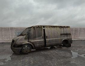 destroyed van 014 am165 3D
