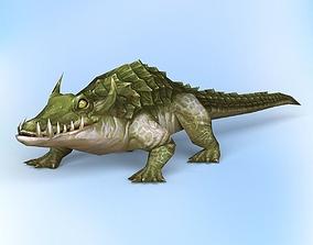 3D model Fantasy Crocodile