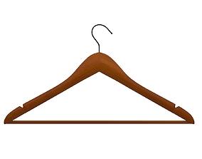 3D Wood Suit Hangers Clothes Hangers