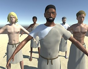 Custom Sumerian Male 3D model