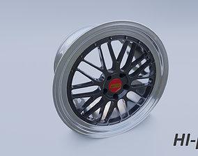 3D model BBS LM rim