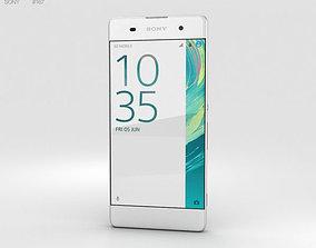 Sony Xperia XA White 3D xperia
