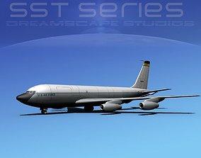 3D model Boeing KC-135E Stratotanker LPSS V10