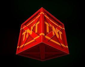 3D asset TNT Box