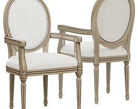 3D Loft Concept French chairs Provence Strip ArmChair