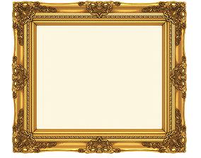 3D printable model Frame picture gold v1 house