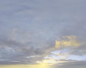 3D model Skydome HDRI - Sunset Clouds IV
