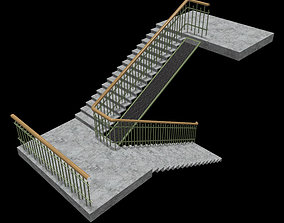 old 3D model realtime Stairway
