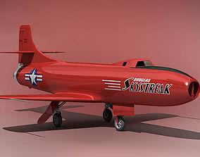 Douglas D 558 I Skystreak USA 1947 3D