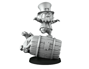 3D printable model Deathroller leprechaun