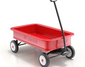 Child Wagon Toy 3D