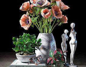 Decorative set 010 3D model