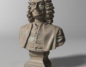 3D model Voltaire Bust