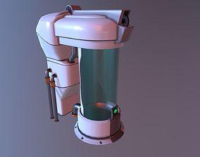 3D model Sci-fi Medical Chamber