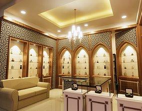 3D Perfume Shop Interior